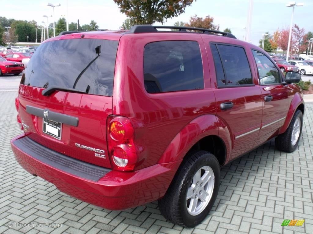 2009 inferno red crystal pearl coat dodge durango slt 20454951 photo 5 car. Black Bedroom Furniture Sets. Home Design Ideas