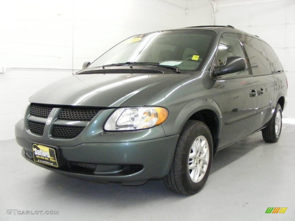 2003 onyx green pearl dodge grand caravan sport 20463792. Black Bedroom Furniture Sets. Home Design Ideas