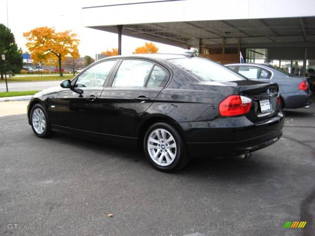2006 black sapphire metallic bmw 3 series 325i sedan. Black Bedroom Furniture Sets. Home Design Ideas