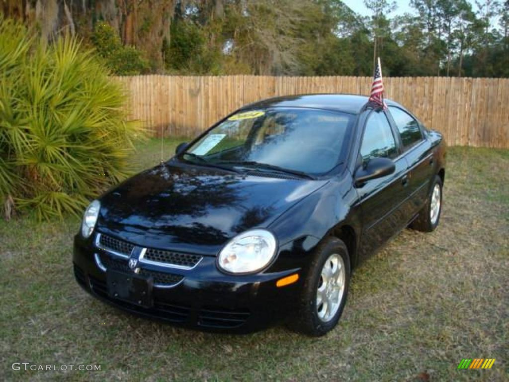 2004 Black Dodge Neon Sxt 2043578 Photo 2 Gtcarlot Com
