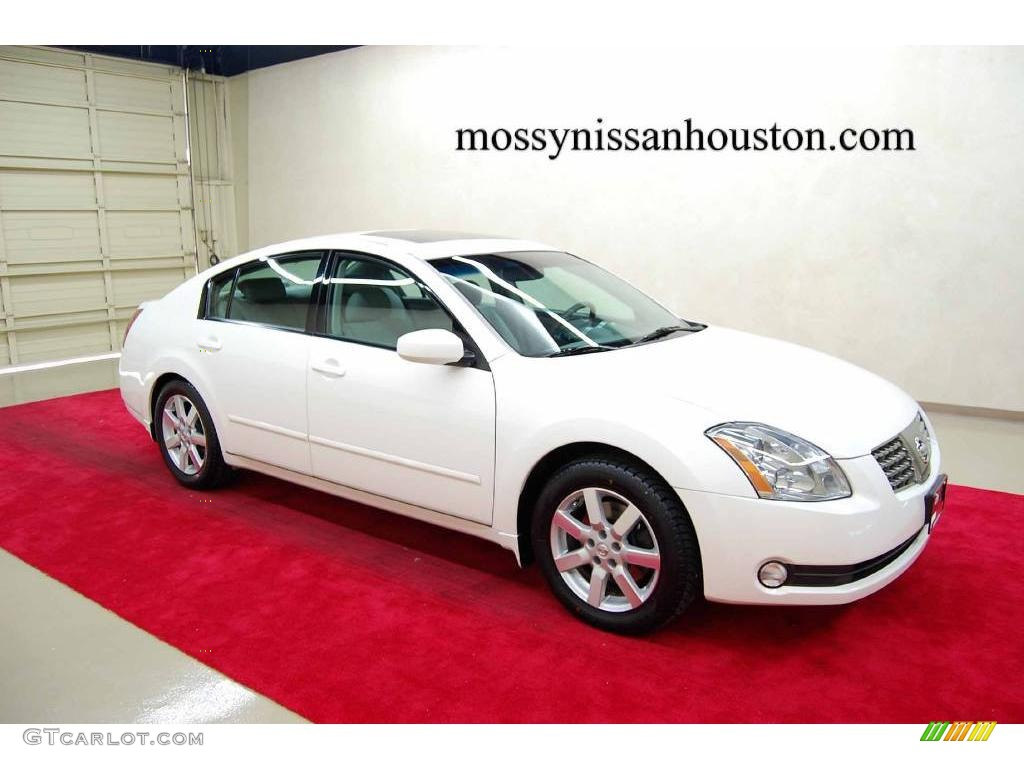 2004 nissan maxima pearl white image gallery hcpr 2004 nissan maxima winter frost pearl nissan maxima vanachro Image collections