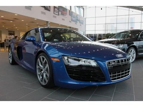 Audi Matte Effect Blue Paint on 2009 Sepang Blue Pearl Effect Audi R8 5 2 Fsi Quattro  26996452