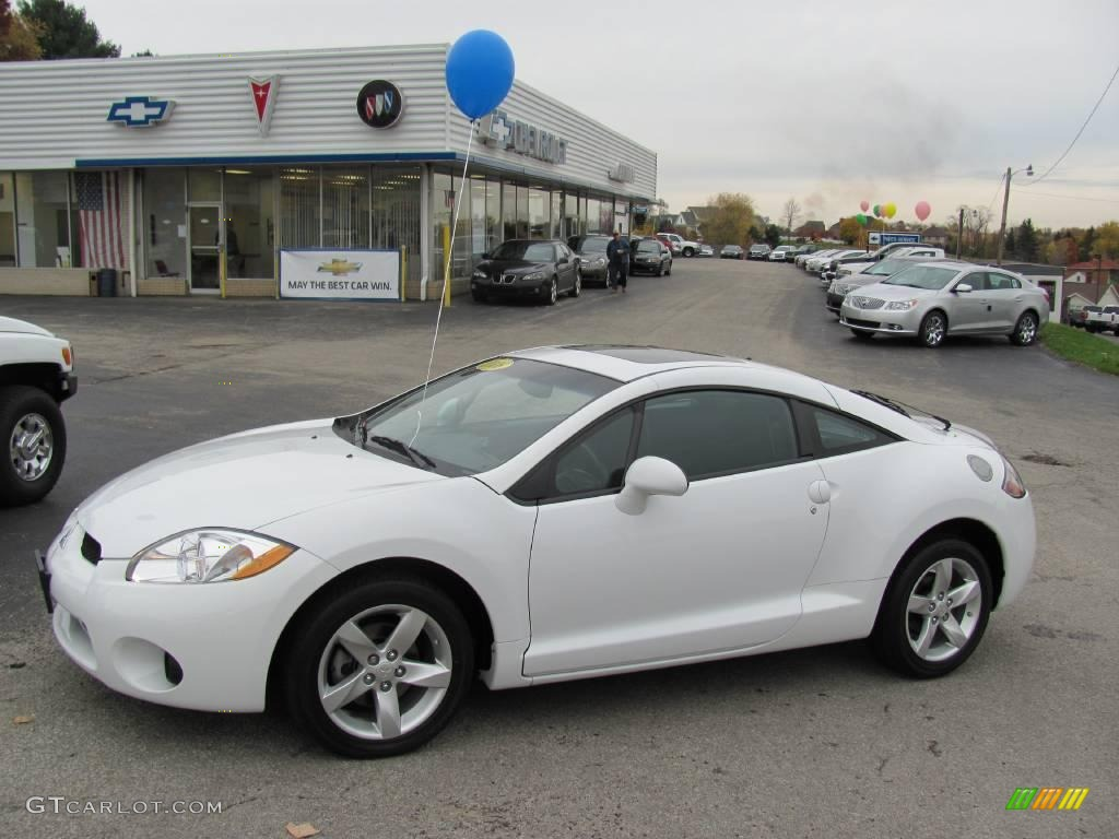 2008 Northstar White Mitsubishi Eclipse GS Coupe #20536661 ...