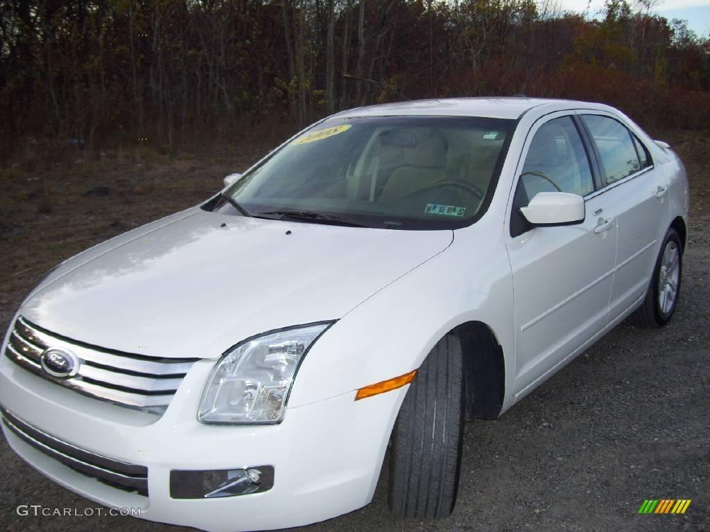 2008 White Suede Ford Fusion Sel V6 20450370 Gtcarlot Com Car