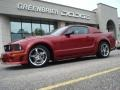 2007 Redfire Metallic Ford Mustang ROUSH Stage 1 Coupe  photo #2