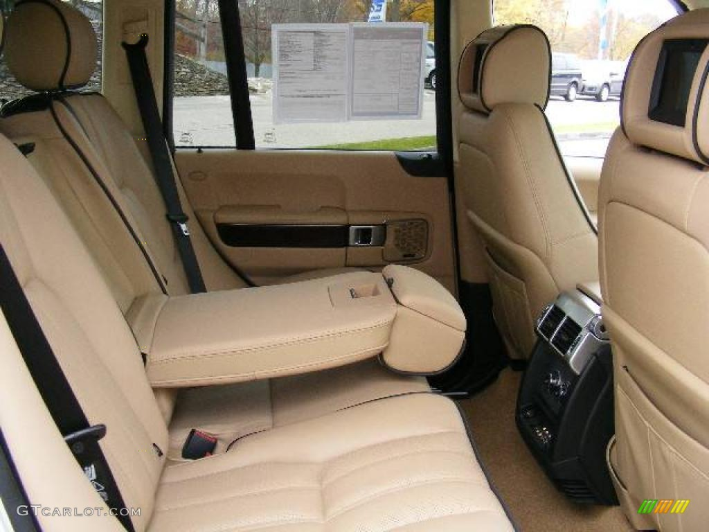 2007 Range Rover HSE - Chawton White / Sand Beige photo #12