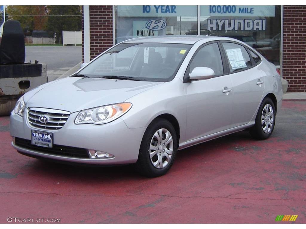 2010 hyundai elantra gls liquid silver color gray interior 2010 ...