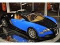 Bugatti Light Blue/Black 2008 Bugatti Veyron 16.4