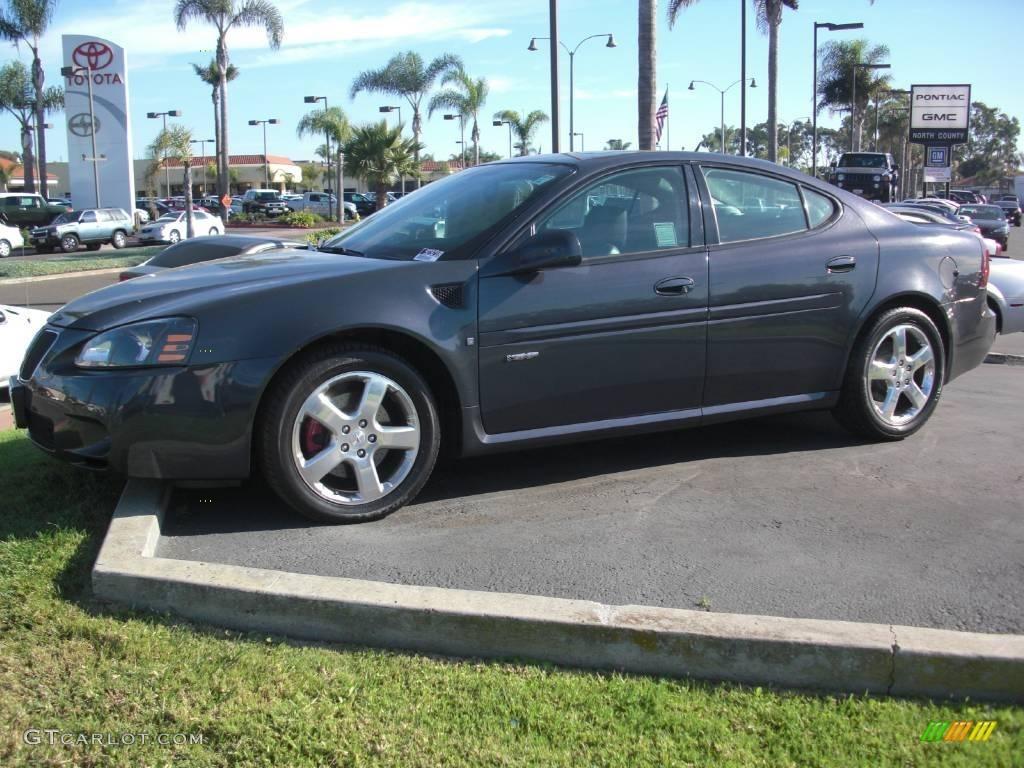 2008 dark slate metallic pontiac grand prix gxp sedan 20614320 car color galleries. Black Bedroom Furniture Sets. Home Design Ideas