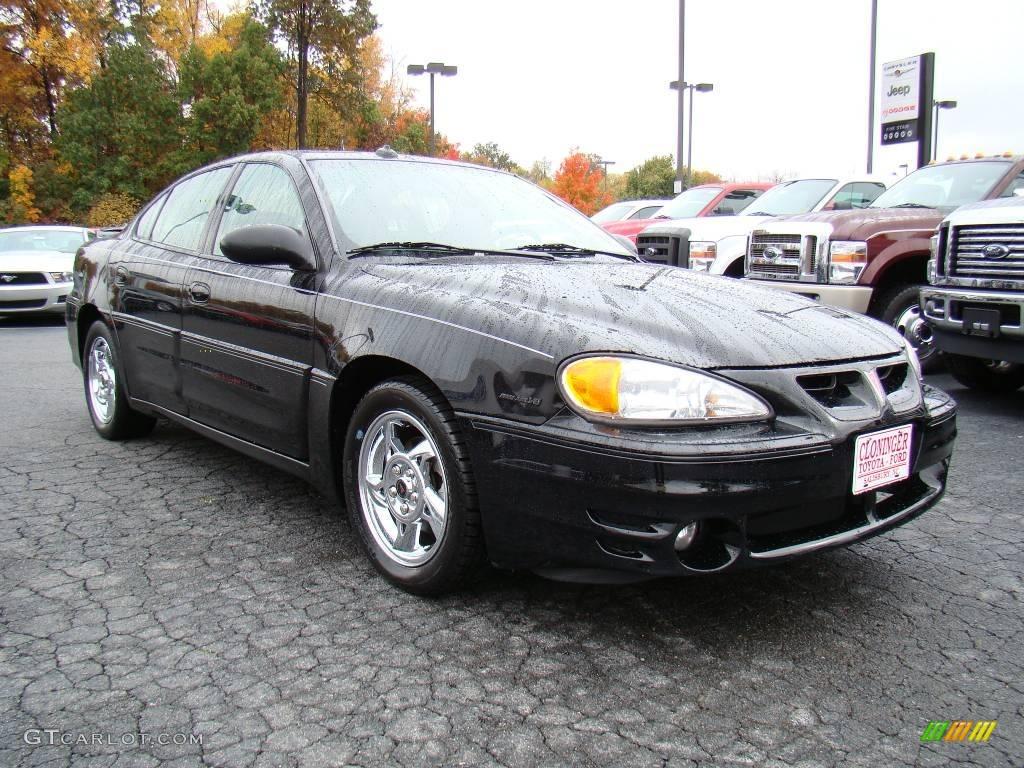 2004 black pontiac grand am gt sedan 20607172 car color galleries. Black Bedroom Furniture Sets. Home Design Ideas