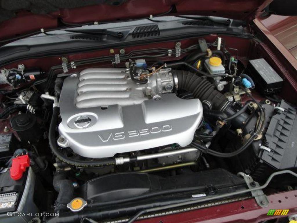 2004 Nissan Pathfinder Se 4x4 3 5 Liter Dohc 24 Valve V6