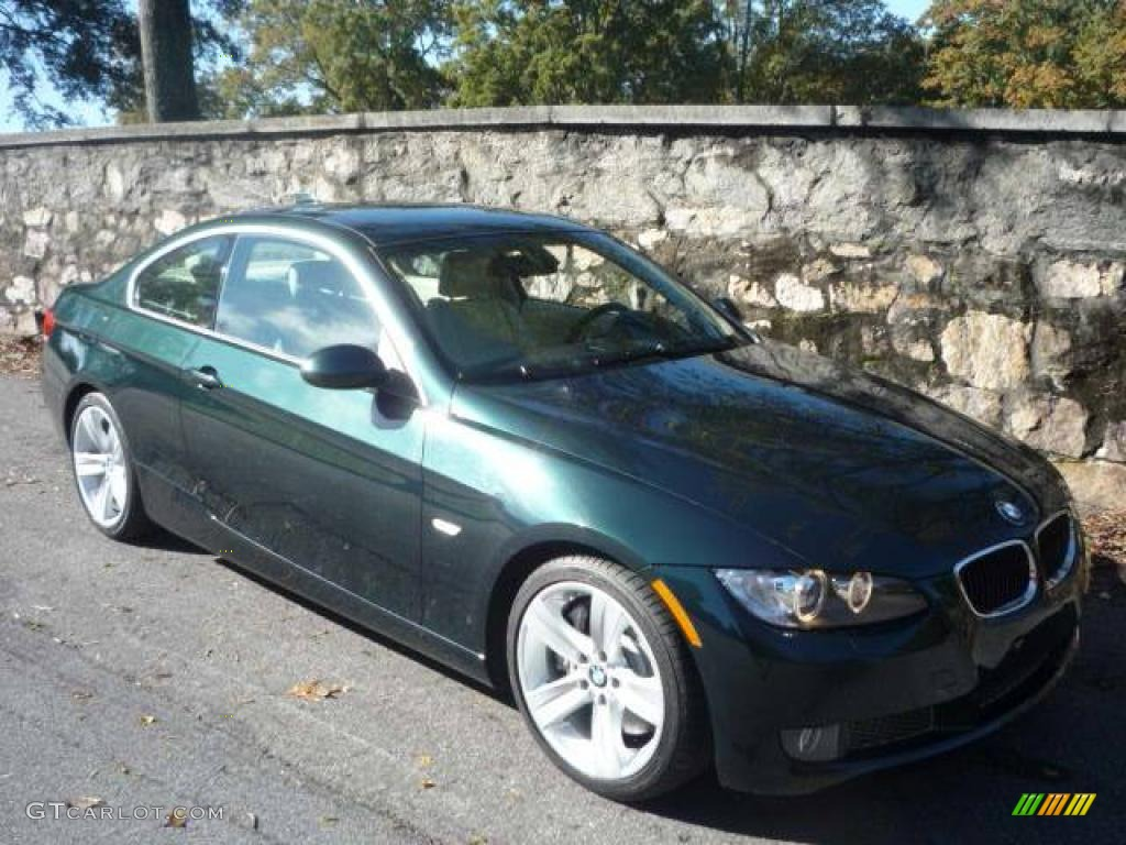 2007 deep green metallic bmw 3 series 335i coupe 20604148 photo 12 car color. Black Bedroom Furniture Sets. Home Design Ideas
