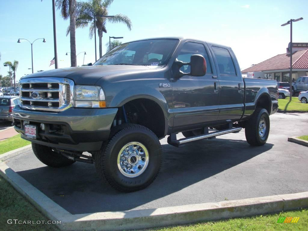 Dark Shadow Grey Metallic Ford F250 Super Duty