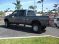 2004 Dark Shadow Grey Metallic Ford F250 Super Duty XLT Crew Cab 4x4  photo #3