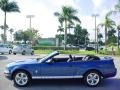 2007 Vista Blue Metallic Ford Mustang V6 Premium Convertible  photo #7