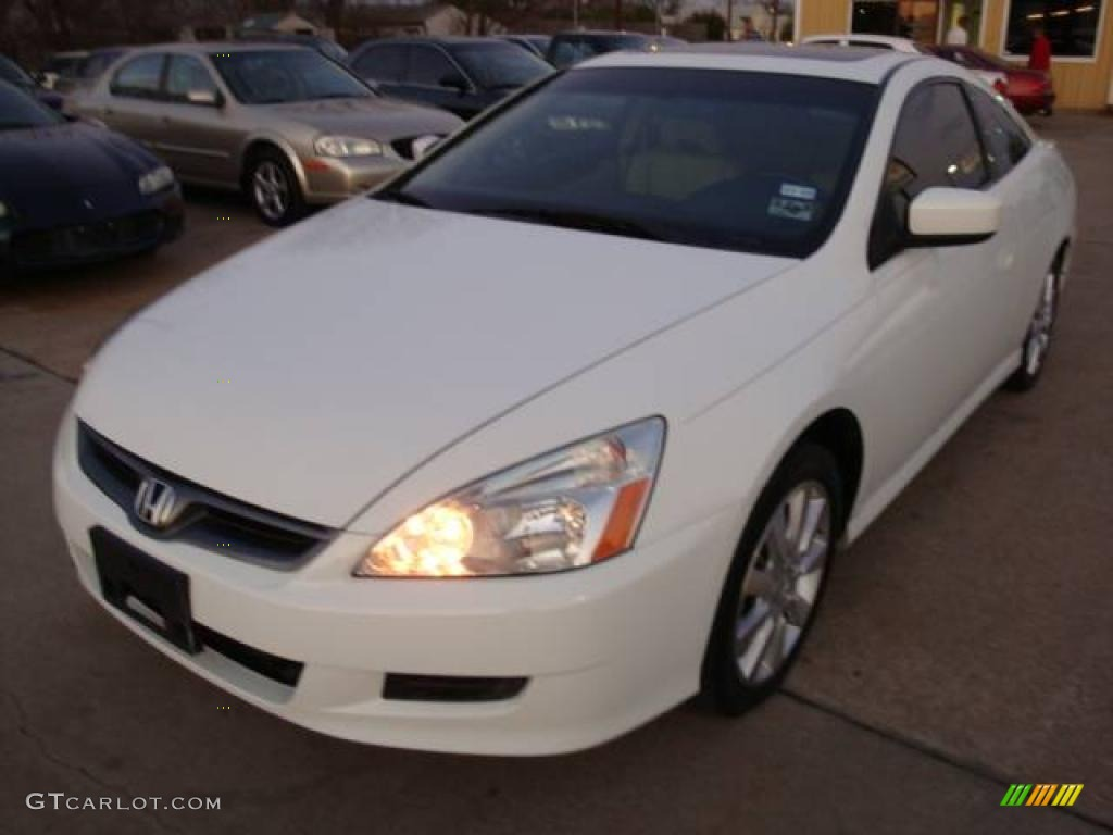 2006 Taffeta White Honda Accord Ex V6 Coupe 2064284