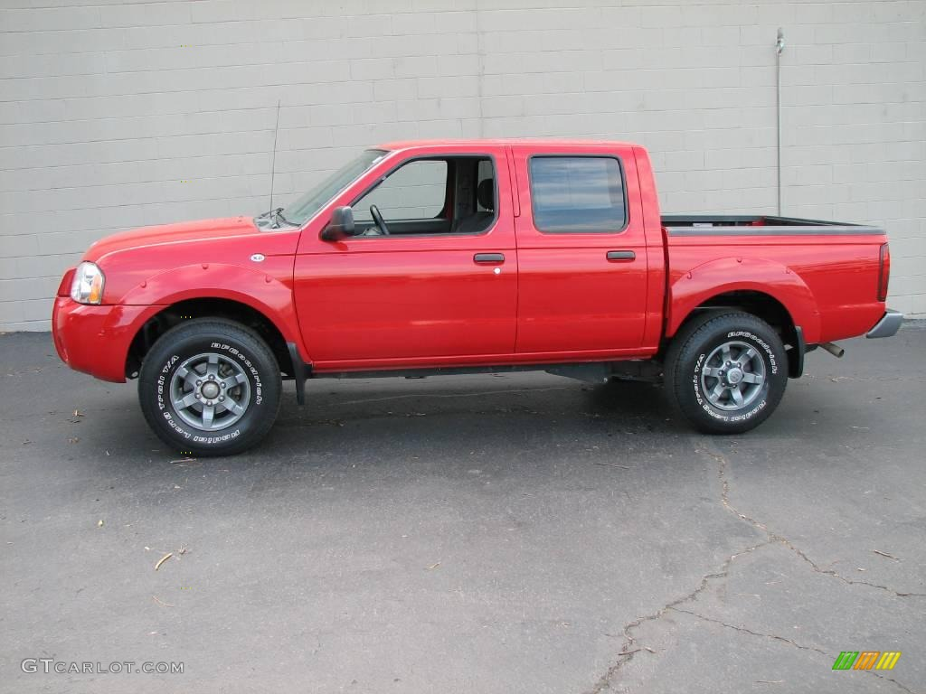 2004 aztec red nissan frontier xe v6 crew cab 2062353 gtcarlot 2004 frontier xe v6 crew cab aztec red gray photo 1 vanachro Images