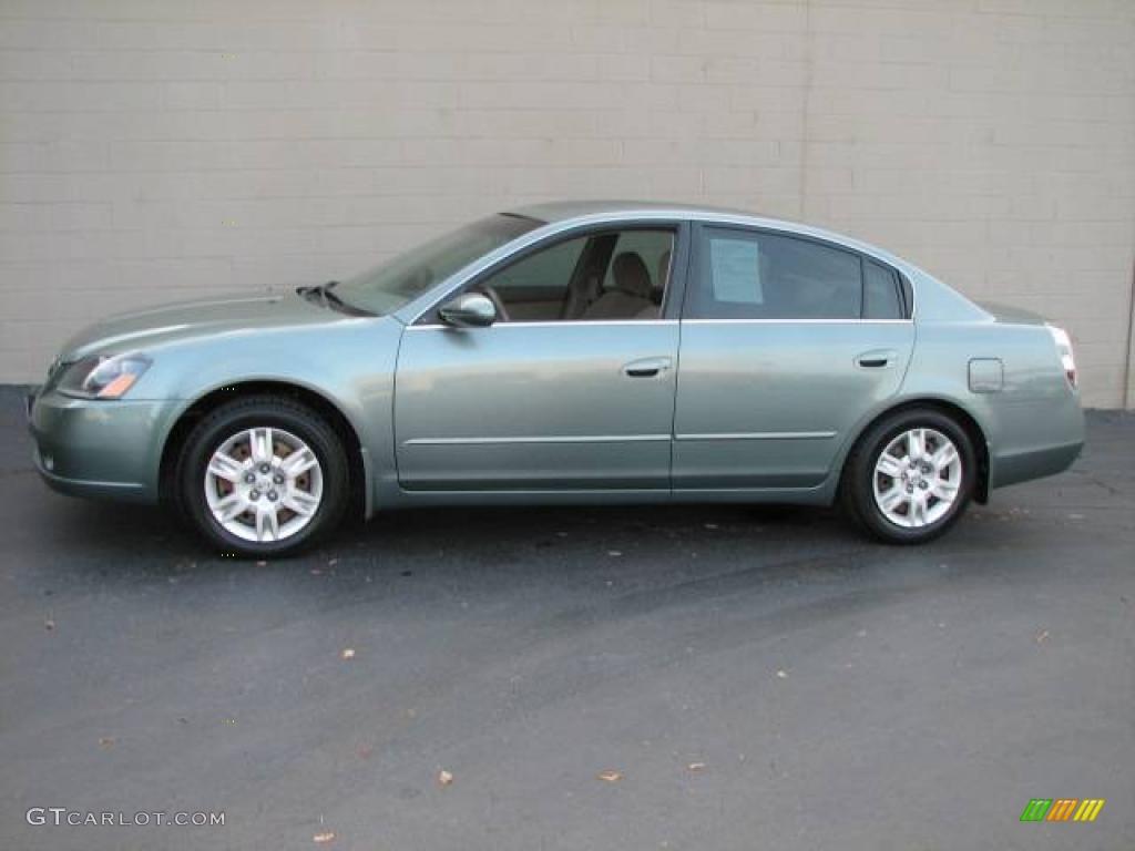 2005 Mystic Emerald Green Nissan Altima 2 5 S 2062354