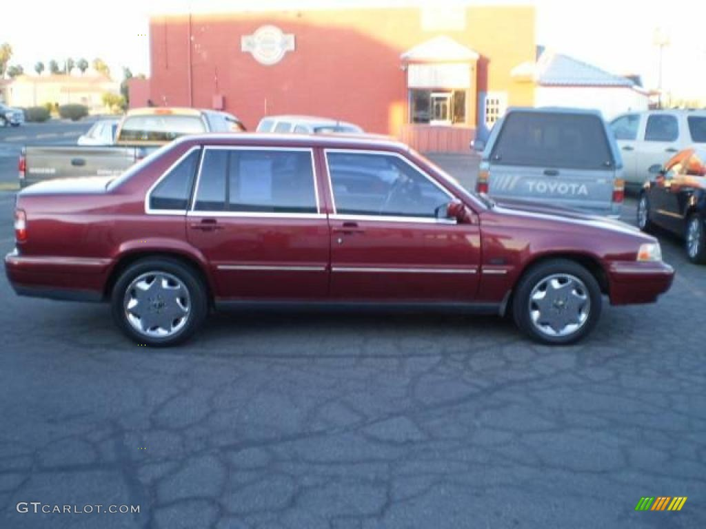 1997 960 sedan garnet red metallic beige photo 33