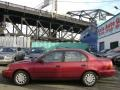 Red Pearl 1993 Toyota Corolla DX