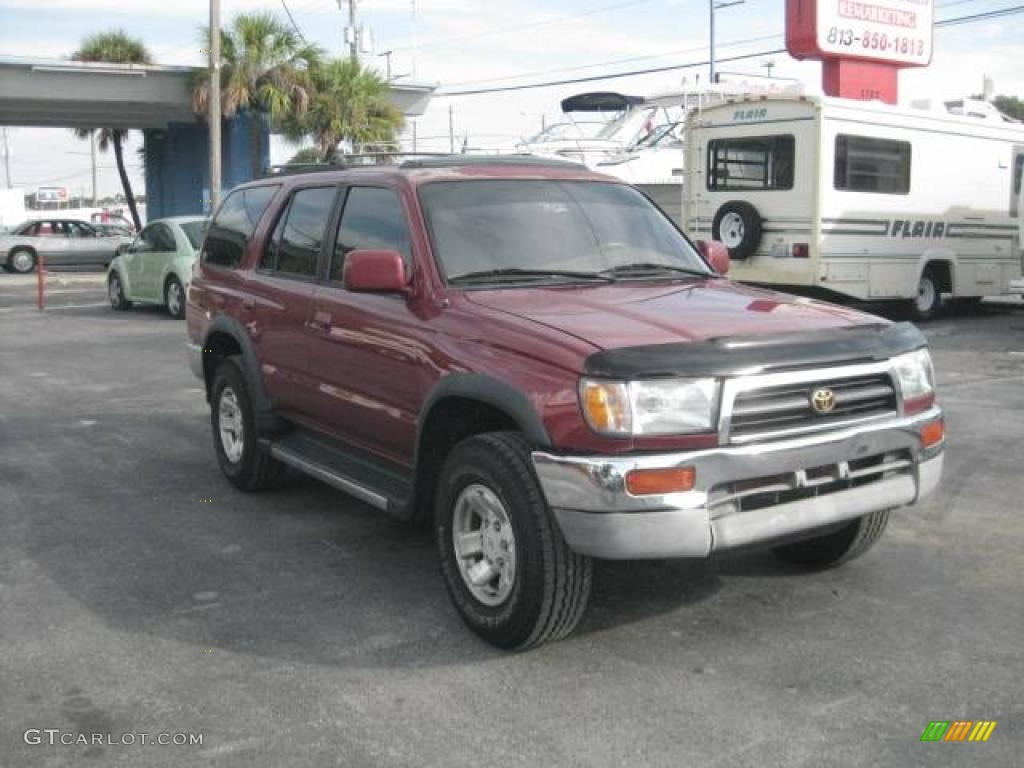 1996 sunfire red pearl toyota 4runner sr5 20667623 photo. Black Bedroom Furniture Sets. Home Design Ideas