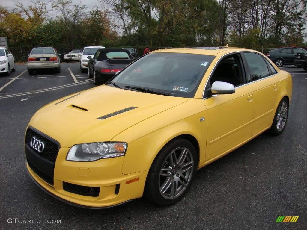 2008 Imola Yellow Audi S4 4 2 Quattro Sedan 20649234