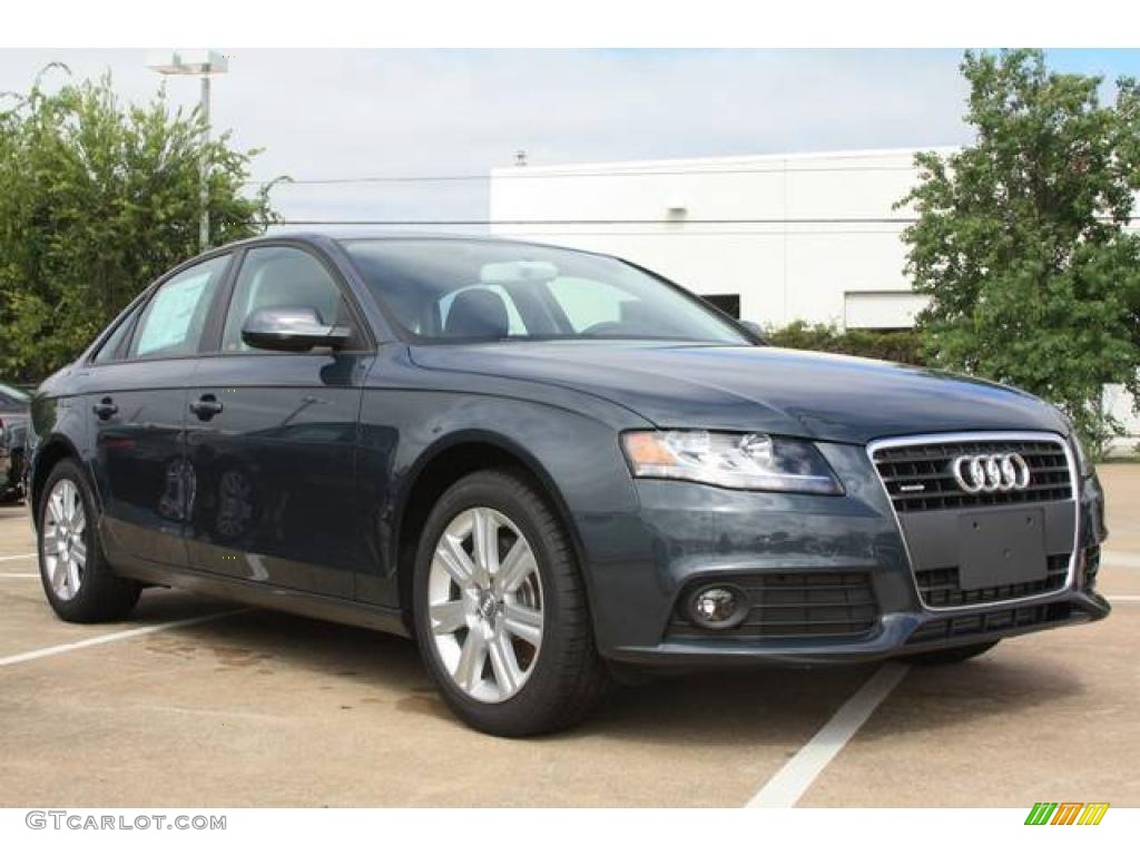 2010 meteor gray pearl effect audi a4 2 0t quattro sedan 20662938 car color. Black Bedroom Furniture Sets. Home Design Ideas