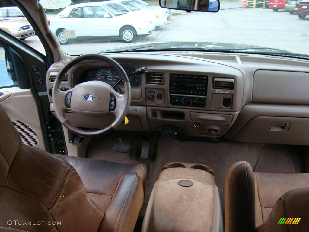2002 Ford F350 Supercab Super Duty Drw News >> 2004 Ford F350 Super Duty King Ranch Crew Cab 4x4 Dually Castano Brown Leather Dashboard Photo ...