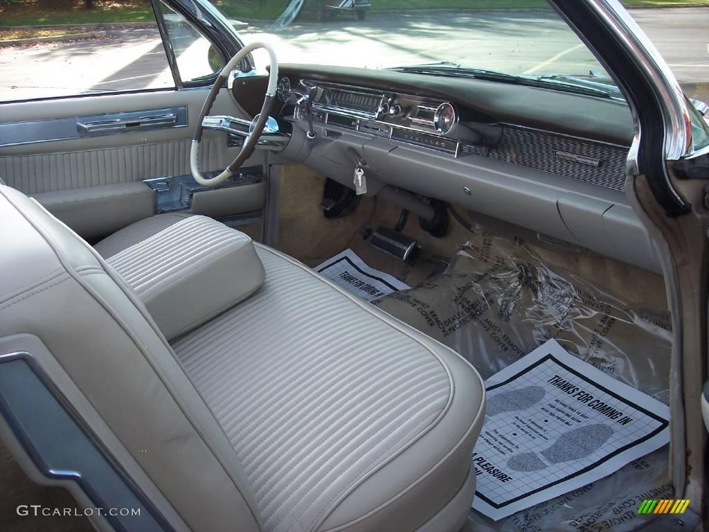 1961 Aspen Gold Cadillac Eldorado Biarritz Convertible 20663348 El Dorado Tan Photo 36