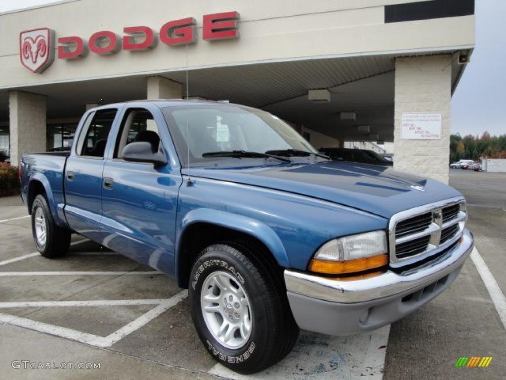 Atlantic Blue Pearlcoat Dodge Dakota