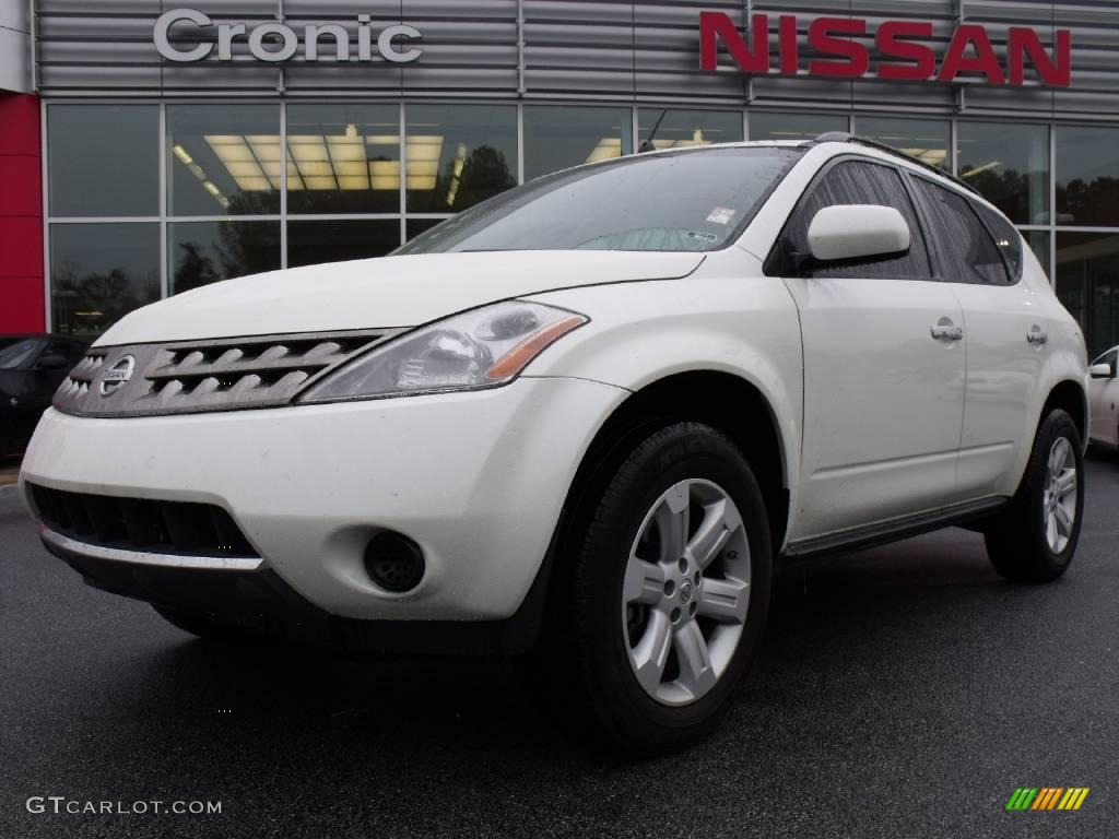 2007 Murano S - Glacier Pearl White / Cafe Latte photo #1