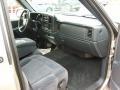 2000 Light Pewter Metallic Chevrolet Silverado 1500 LS Regular Cab 4x4  photo #9