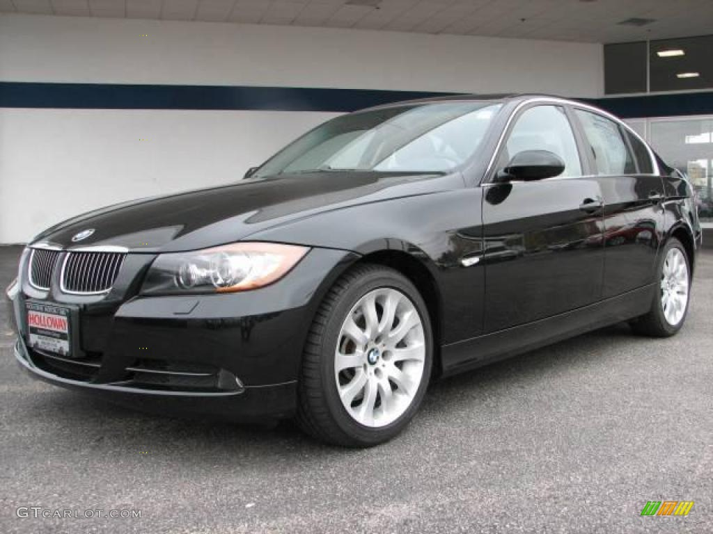2006 black sapphire metallic bmw 3 series 330xi sedan. Black Bedroom Furniture Sets. Home Design Ideas