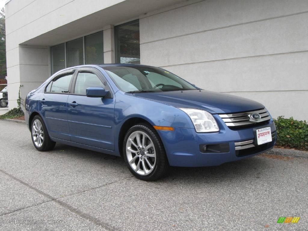 2009 sport blue metallic ford fusion se v6 blue suede 20732485 car color galleries. Black Bedroom Furniture Sets. Home Design Ideas