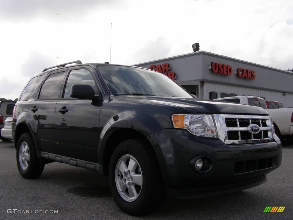 Black Pearl Slate Metallic Ford Escape