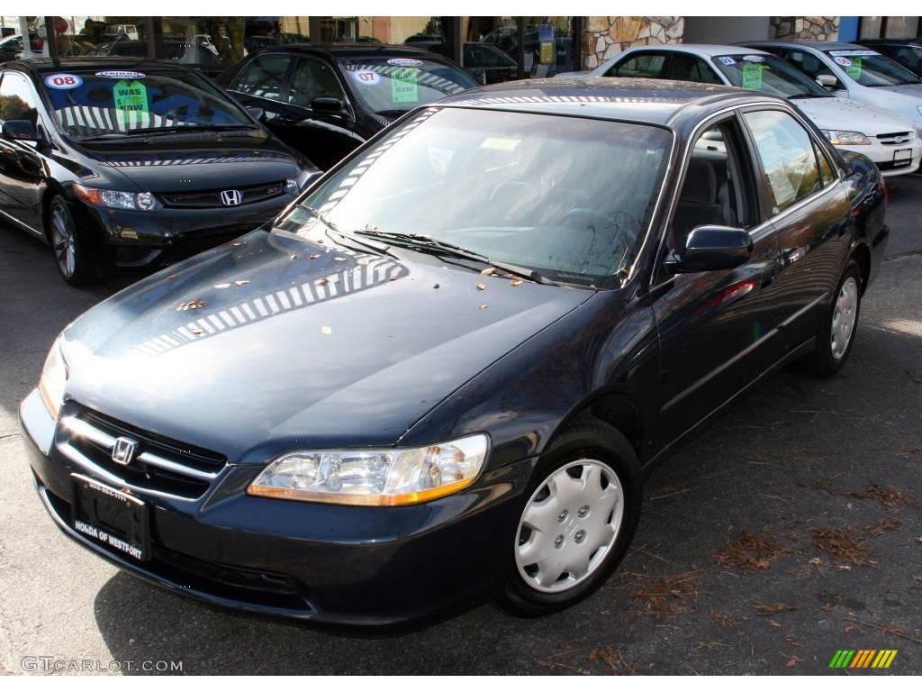 Superb Deep Velvet Blue Pearl Honda Accord. Honda Accord LX Sedan