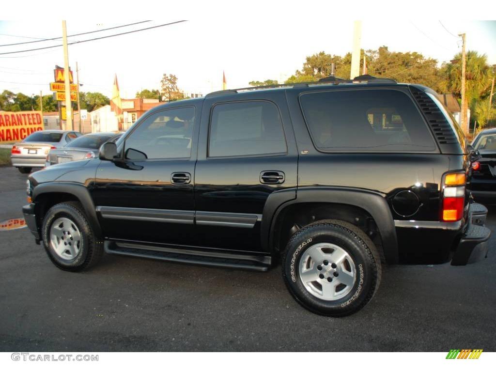 2005 black chevrolet tahoe lt 4x4 20803569 photo 10. Black Bedroom Furniture Sets. Home Design Ideas