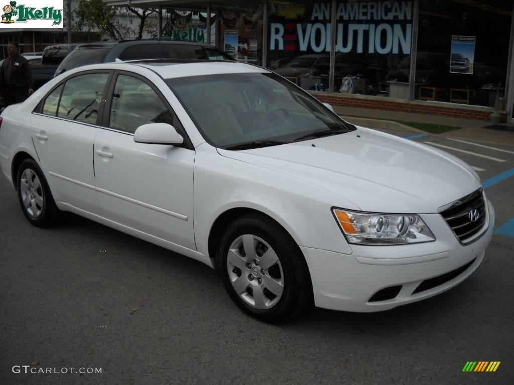 2009 Powder White Pearl Hyundai Sonata GLS V6 #20840482   GTCarLot ...