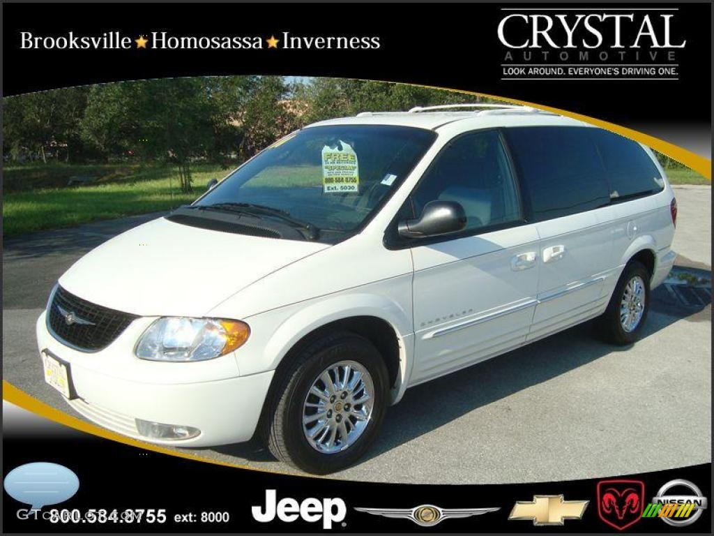 2001 stone white chrysler town country limited 20874897 for Stone s town country motors