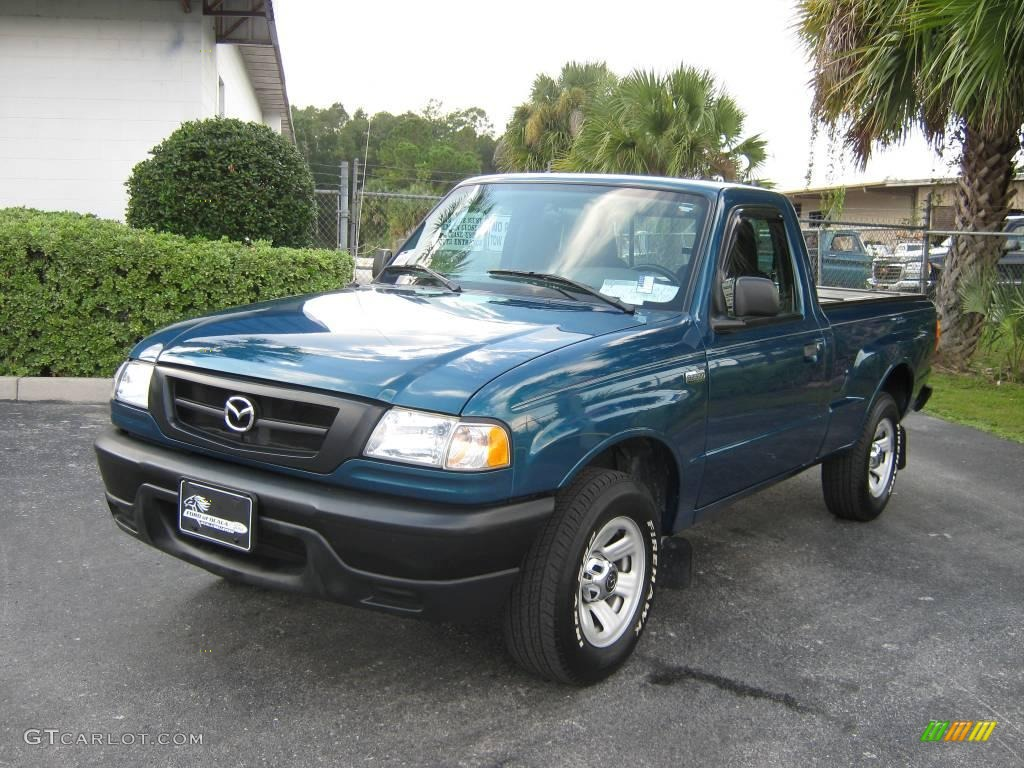 2004 Dark Teal Mazda B Series Truck B2300 Regular Cab