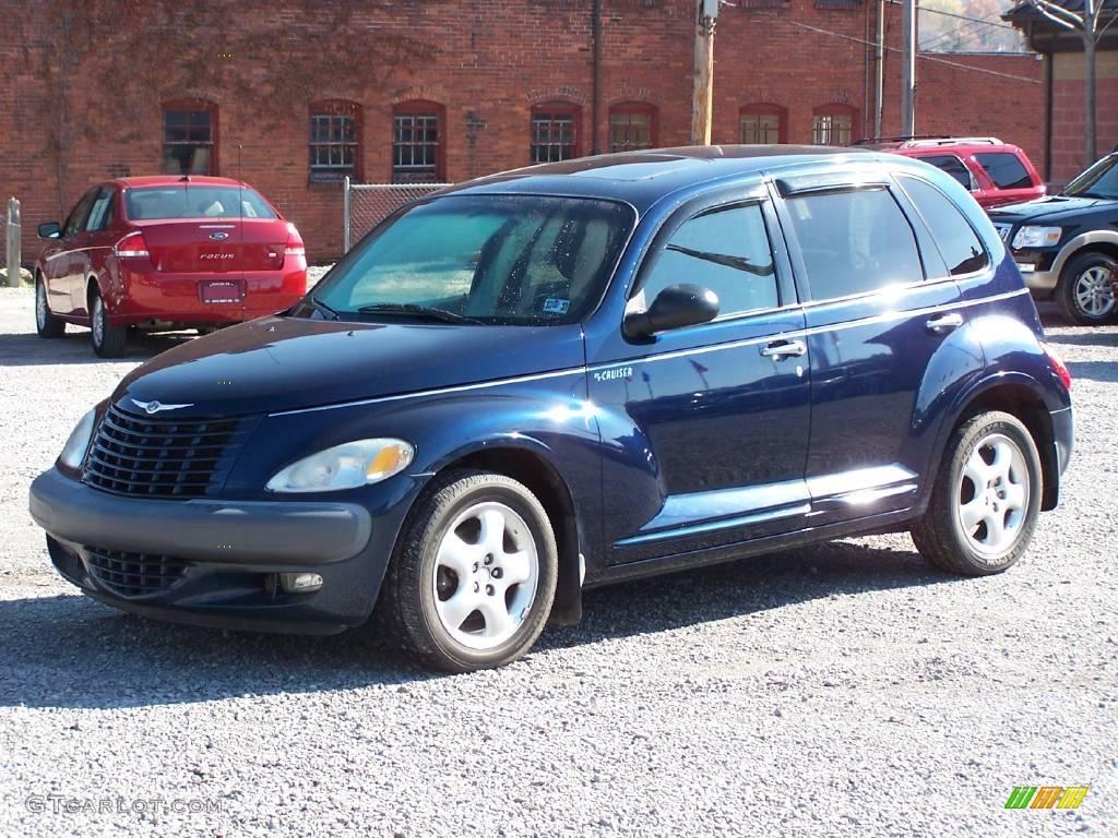 2001 patriot blue pearl chrysler pt cruiser 20912005. Black Bedroom Furniture Sets. Home Design Ideas