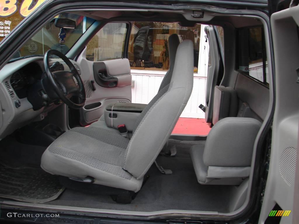 1999 ranger xlt extended cab 4x4 black clearcoat dark graphite photo 7