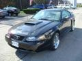 2001 Black Ford Mustang GT Coupe  photo #5