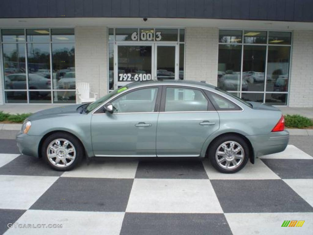 Titanium green metallic ford five hundred