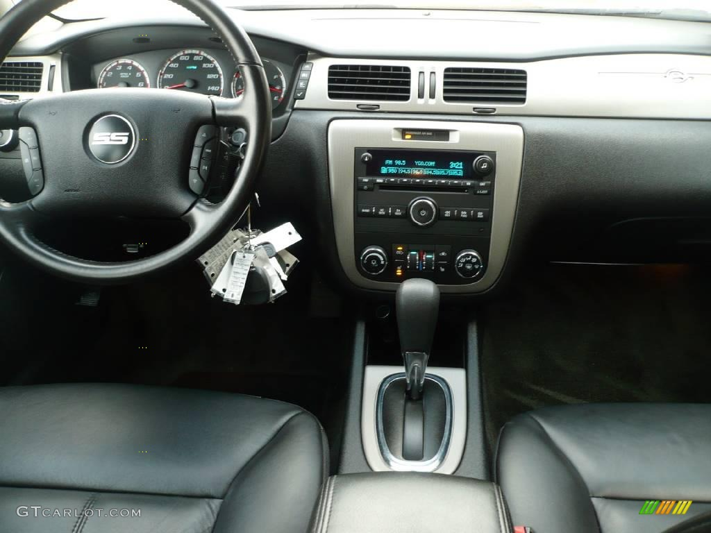 2008 Impala SS   Silverstone Metallic / Ebony Black Photo #16