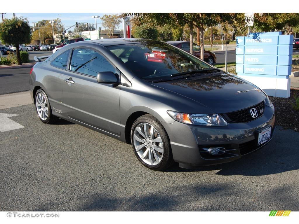 2009 Urban Titanium Metallic Honda Civic Si Coupe