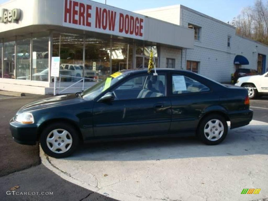 Captivating Cypress Green Pearl Honda Civic. Honda Civic EX Coupe