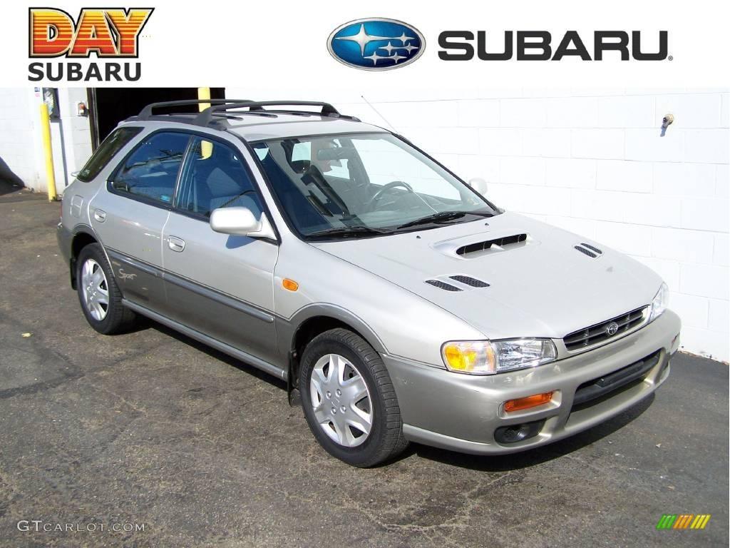 2000 Silverthorn Metallic Subaru Impreza Outback Sport Wagon