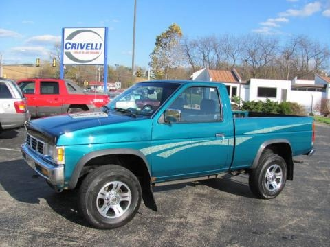1997 Nissan Hardbody Truck Xe Regular Cab 4x4 Data Info And Specs