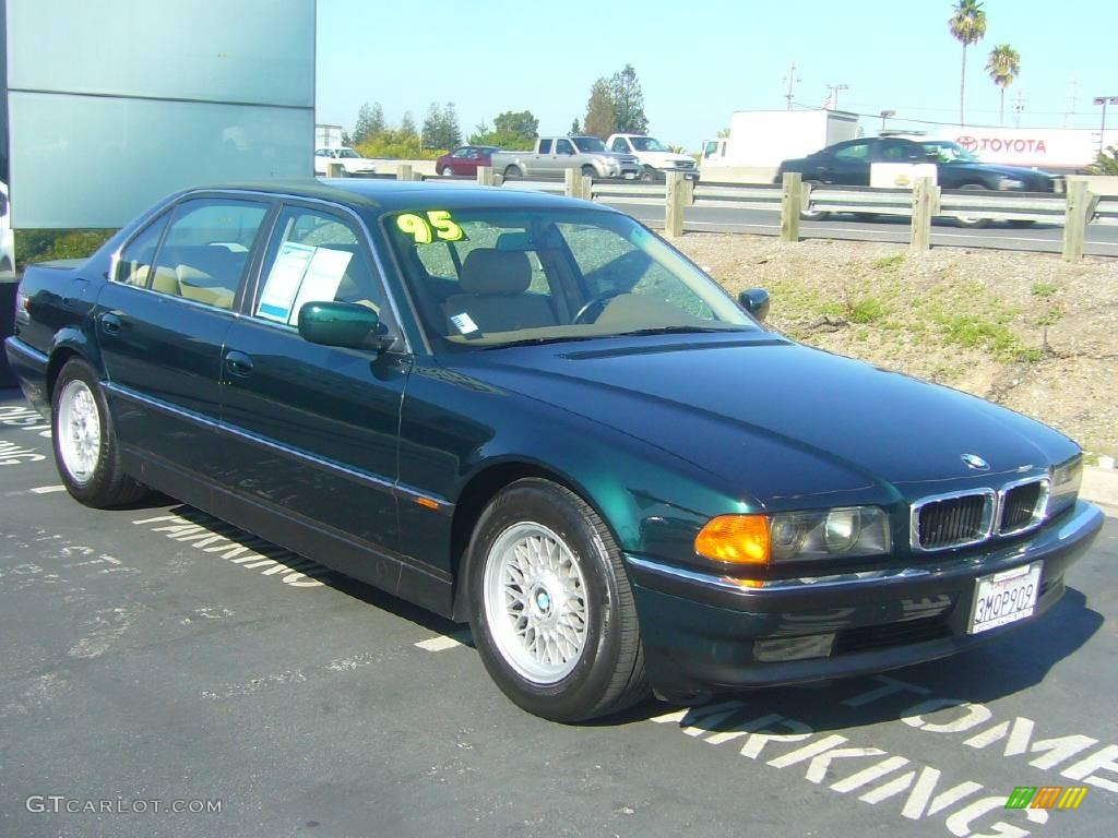 1995 oxford green metallic bmw 7 series 740il sedan 20991010 car color galleries. Black Bedroom Furniture Sets. Home Design Ideas